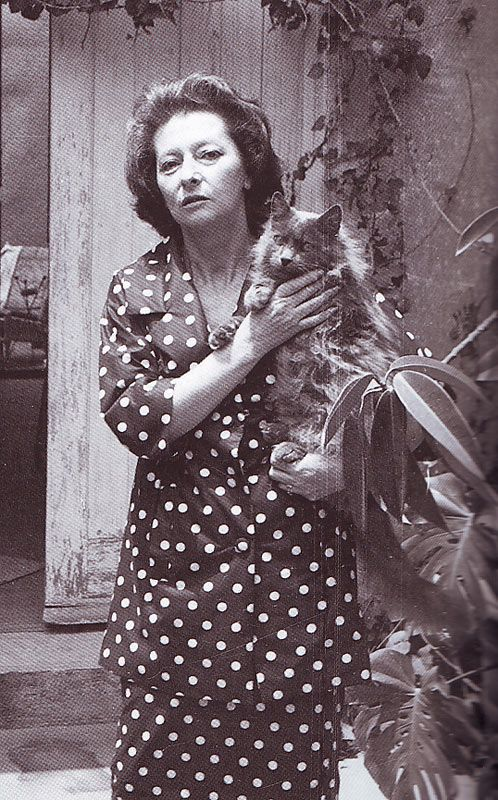 Remedios Varo with Cat