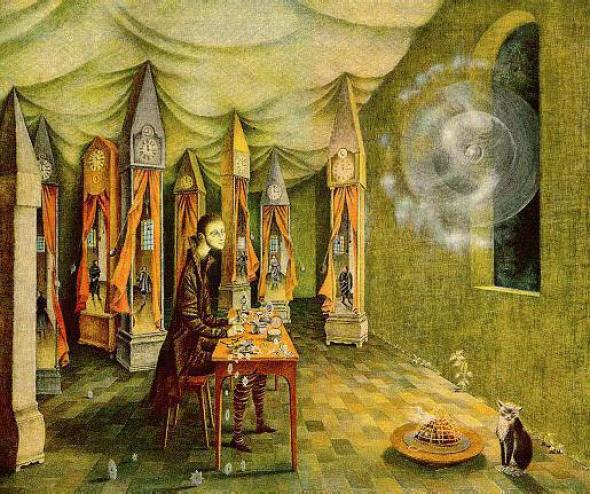 Revelation, 1955, Remedios Varo