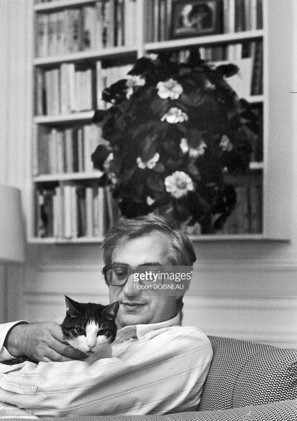 Film Director From Lyon Bertrand Tavernier Around 1992, Robert Doisneau