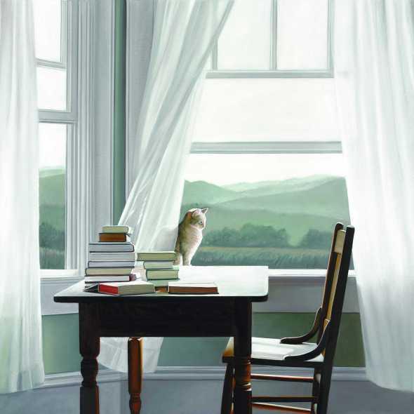 Cat at the Window, Karen Hollingsworth