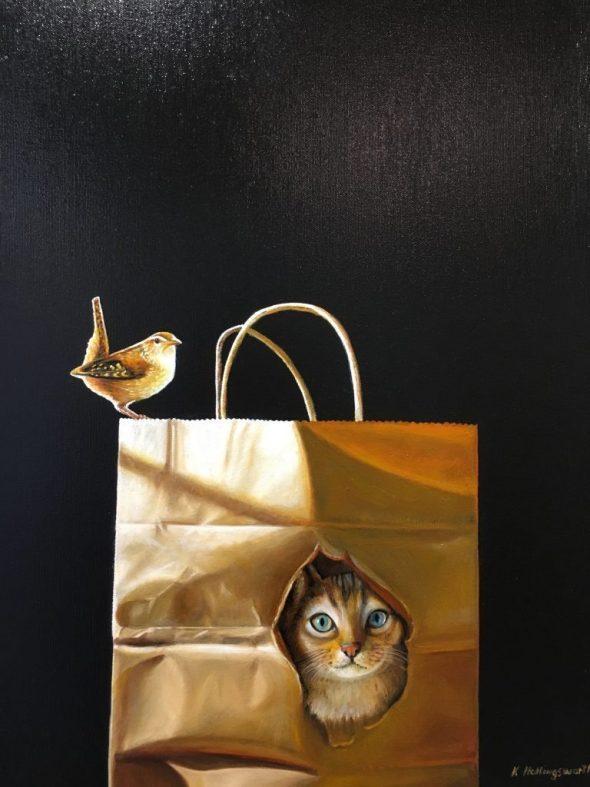 Cat in a Bag, Karen Hollingsworth