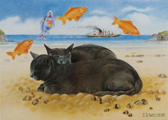 EB Watts, Cats, Fish Dreams