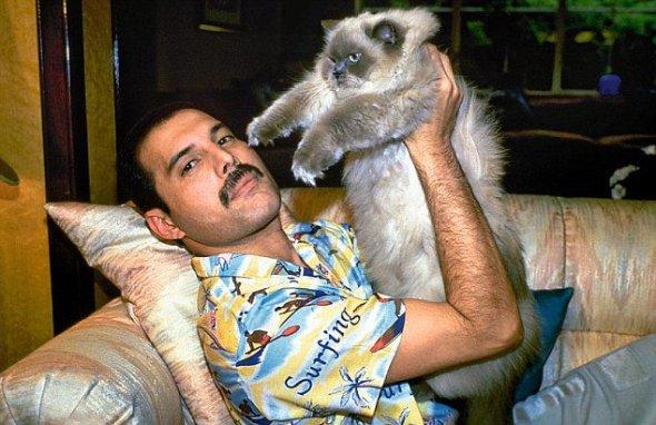 Freddie Mercury and Tiffany