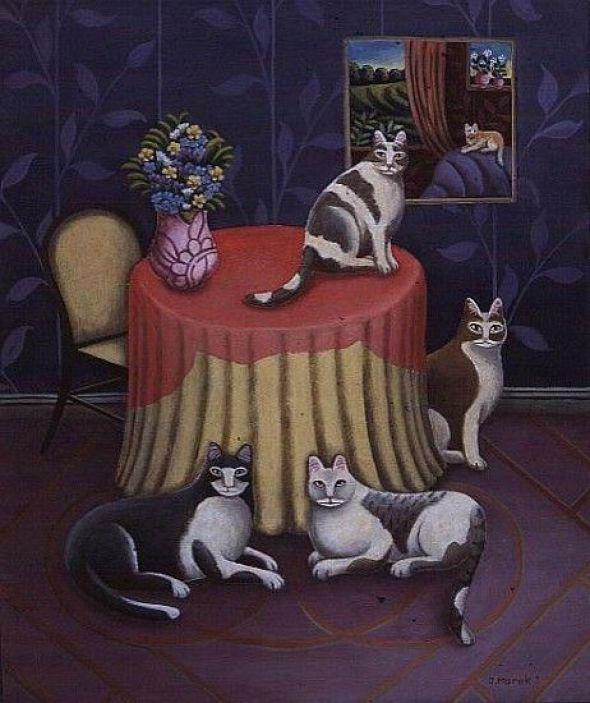 The Cats' Table, Jerzy Marek