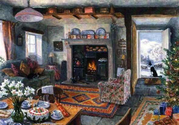 Cat Napping on the Couch, Stephen Darbishire