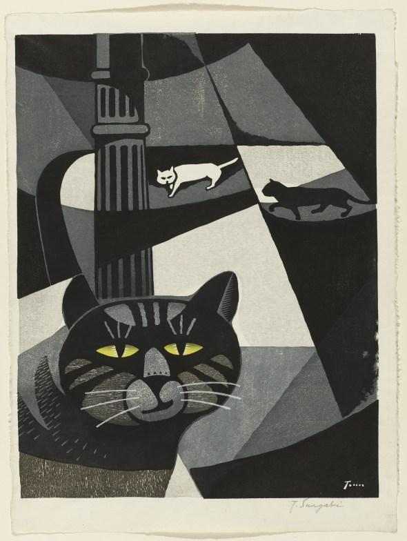 Inagaki Tomoo Cats in Love 1957