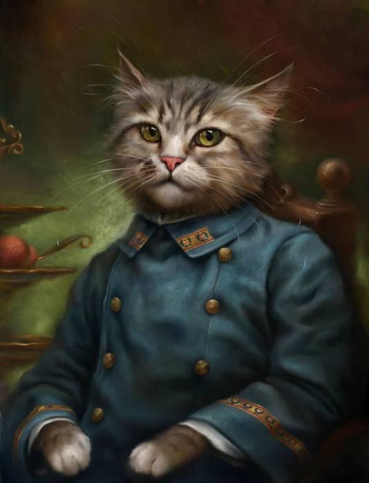 Eldar Zakirov, Hermitage Cat Costumes