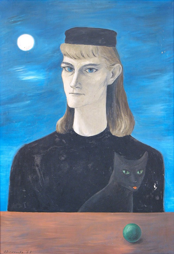 Bohemian Queen and her Cat, Gertrude Abercrombie