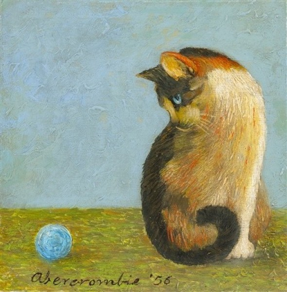 Cat with Blue Ball, Abercrombie