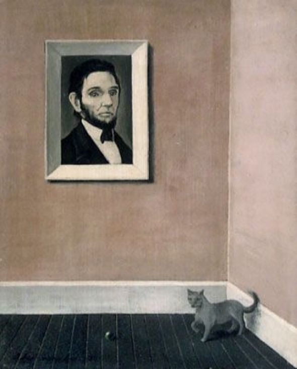 Cat with Portrait, Abercrombie