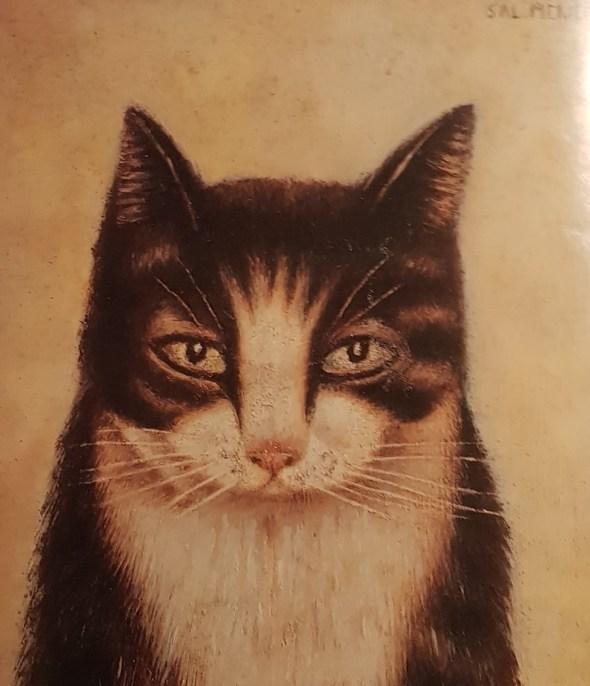 Tabby Cat Portrait, Sal Meijer