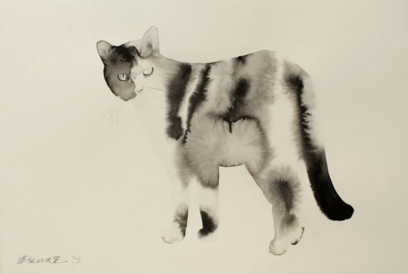 Endre Penovac, Black and White Cat