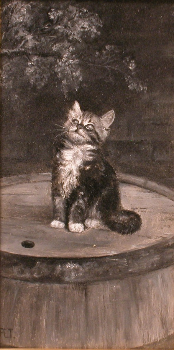Kitten by Ada Elizabeth Tucker