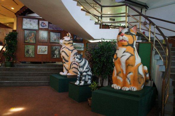 Malaysia Kuching Cat museum