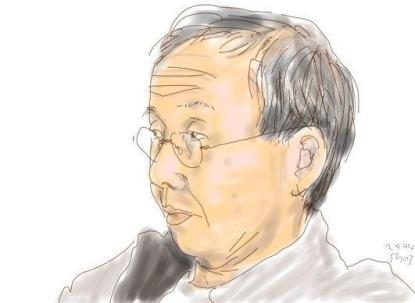 Shozo Ozaki, Self Portrait