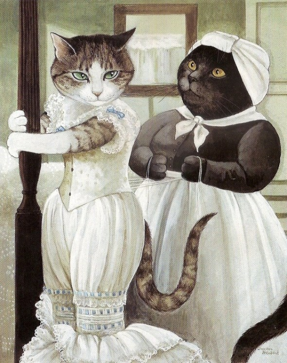 Gone with the Wind cat art