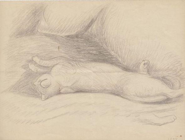 Sleeping Cat, Wanda Gag