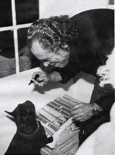 Bukowski and Black Cat