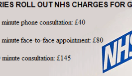 NHS: Tories SILENT on introduction of £145 charges for 40-minute GP consultations
