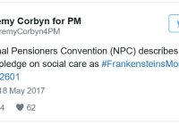 Exclusive: NPC on #ToryManifesto. Your Tory-voting OAP friend/relative MUST read