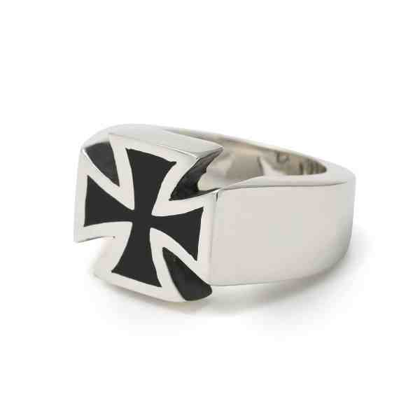 Iron Cross Ring Great Frog