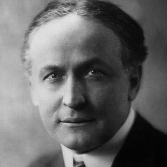 Harry Houdini Portrait