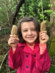 teaching youth to hunt morels