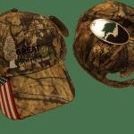 The Great Morel ball cap - American Flag Camo Hat - Mossy Oak ®