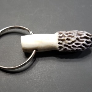Morel Key Chain - Grey No Tip