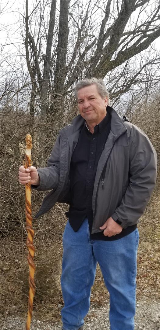 Morel Hiking Stick