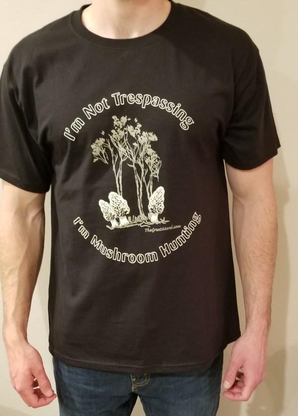 Black Morel T-shirt