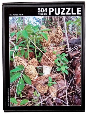 Morel Puzzle - The Perfect Patch