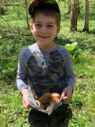Morels and smiles