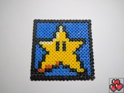 super-mario-etoile-sous-bock-pixelart-pixelcraft-pixelbeads-perlerbeads-perlerart-hama-hamabeads-hamasprites-artkal-artkalbeads-fusebeads-retro-gaming-sprite-design-tutoriel-pattern