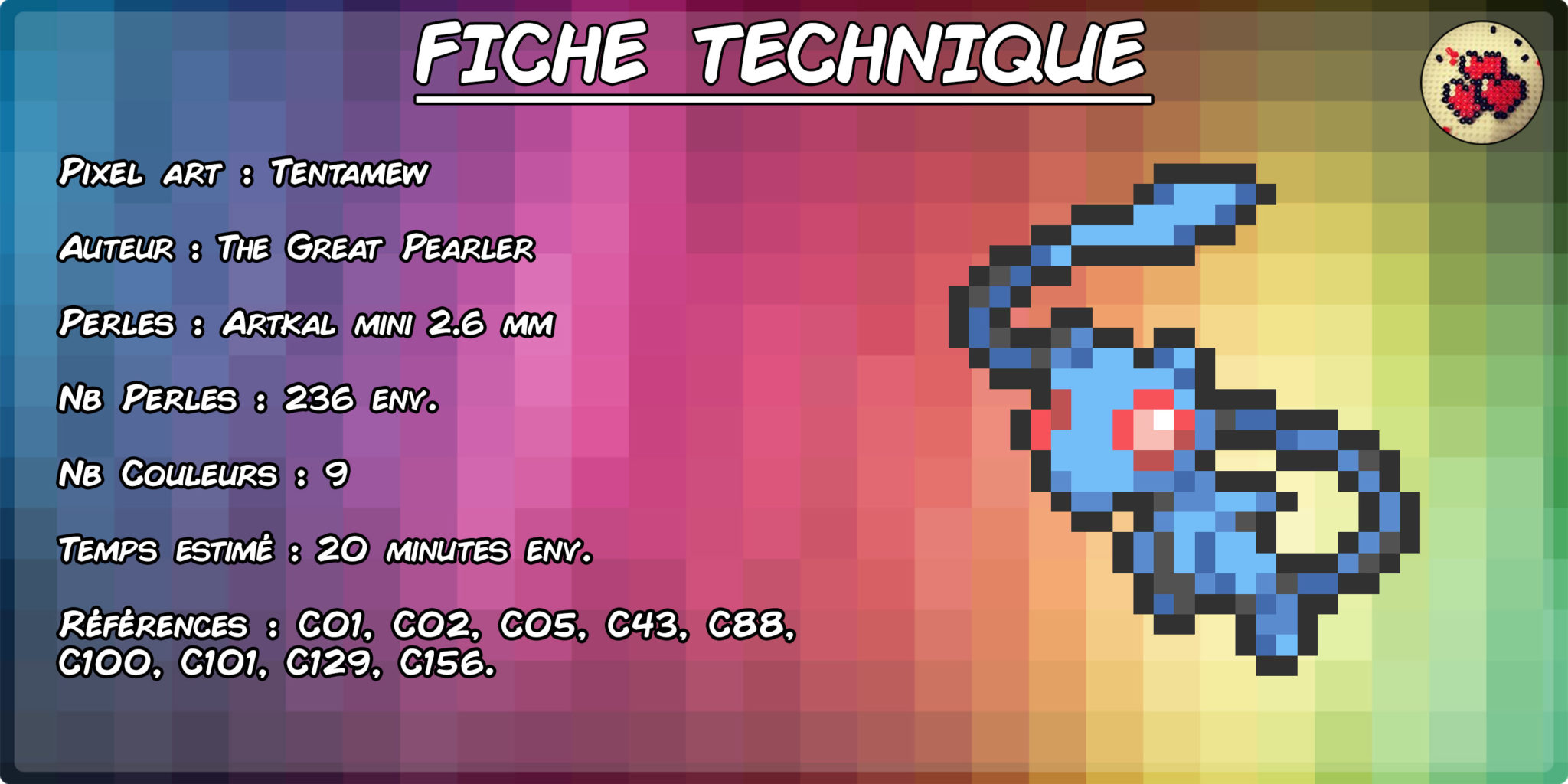 mew-tentacruel-tentamew--fiche-pokefusion-pokemon-pixel-card-pixelart-pixelcraft-pixelbeads-perlerbeads-perlerart-hama-hamabeads-hamasprites-artkal-artkalbeads-fusebeads-retro-gaming-sprite-design-tutoriel