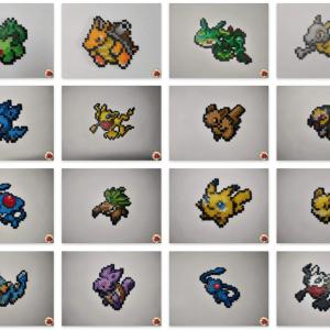 pokefusion-cadre-pixelart-pixelcraft-pixelbeads-perlerbeads-perlerart-hama-hamabeads-hamasprites-artkal-artkalbeads-fusebeads-retro-gaming-sprite-design-tutoriel-modele