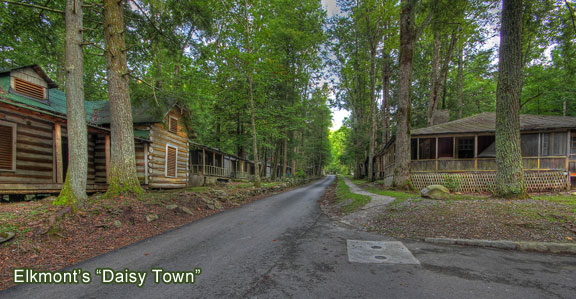 Elkmont Ghost Town of the Great Smoky Mountains  Great