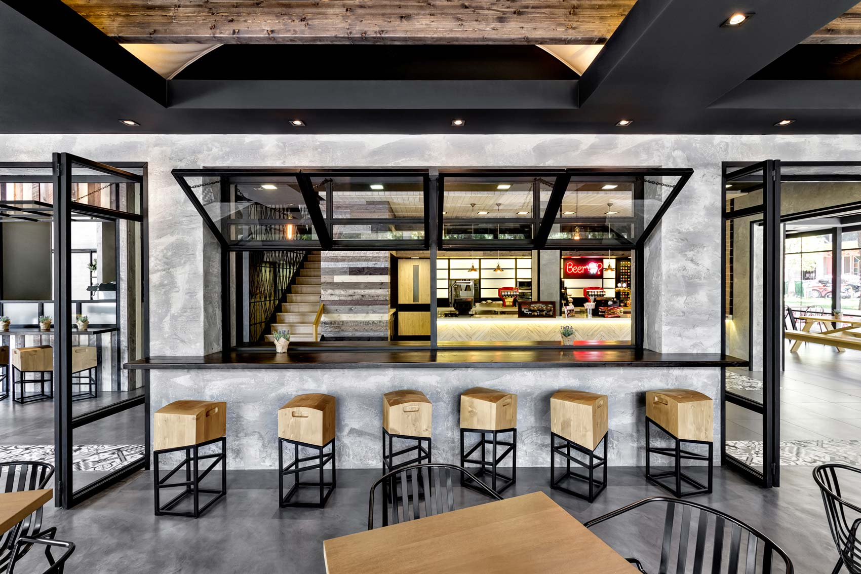 Keratsini Goodys Burger House by ChadiosAssociates  The
