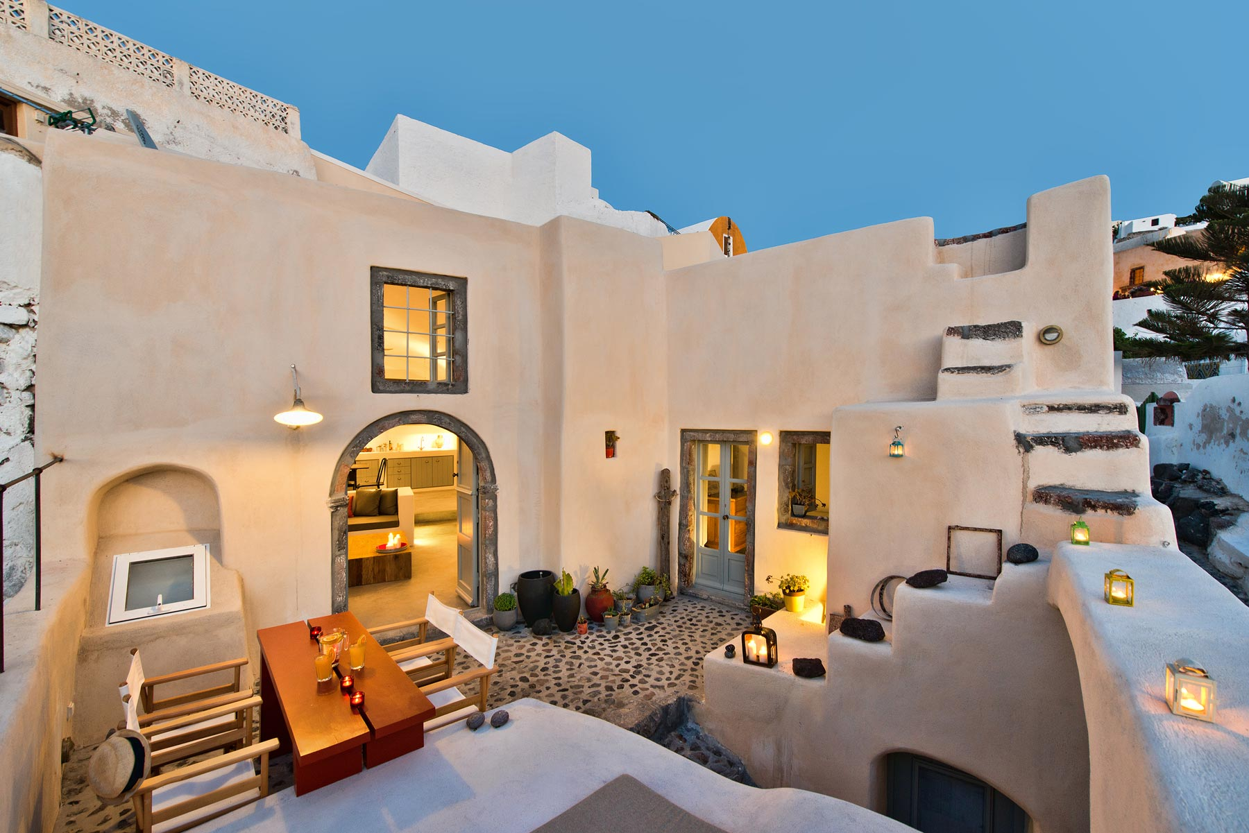 Renovation of Kanava in Santorini by A2 Architects  The