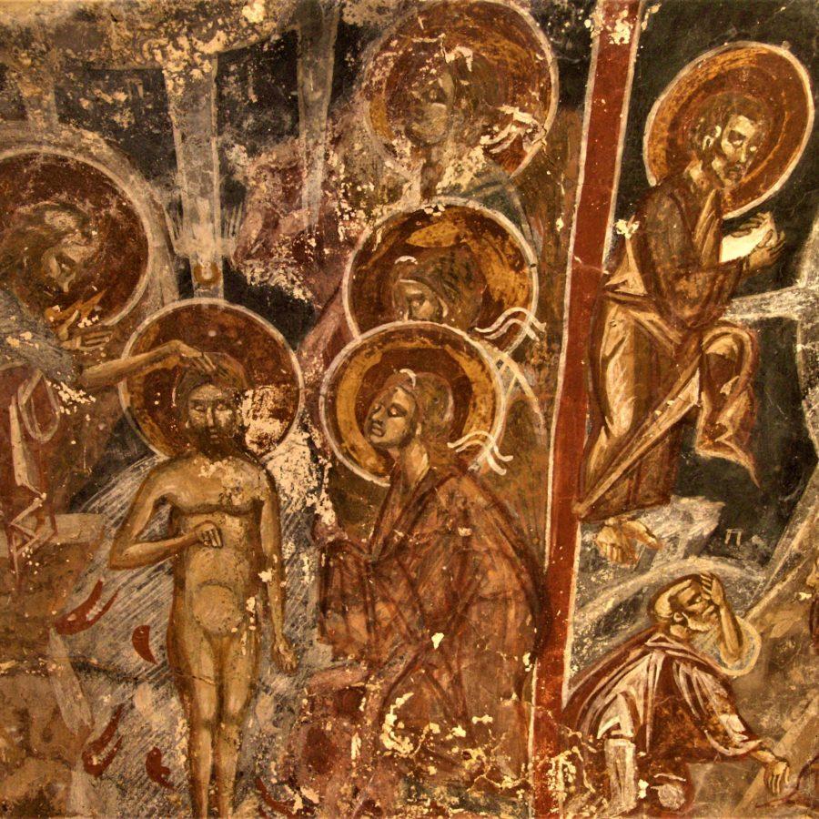 Μικρό Χωριό, Τήλος, Δωδεκάνησα, Ρόδος, τοιχογραφίες, βυζαντινός πολιτισμός, αγιογραφίες