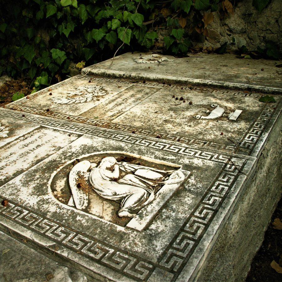 Ροβιές, Νεκροταφείο, Εύβοια, Στερεά Ελλάδα, Αιδηψός