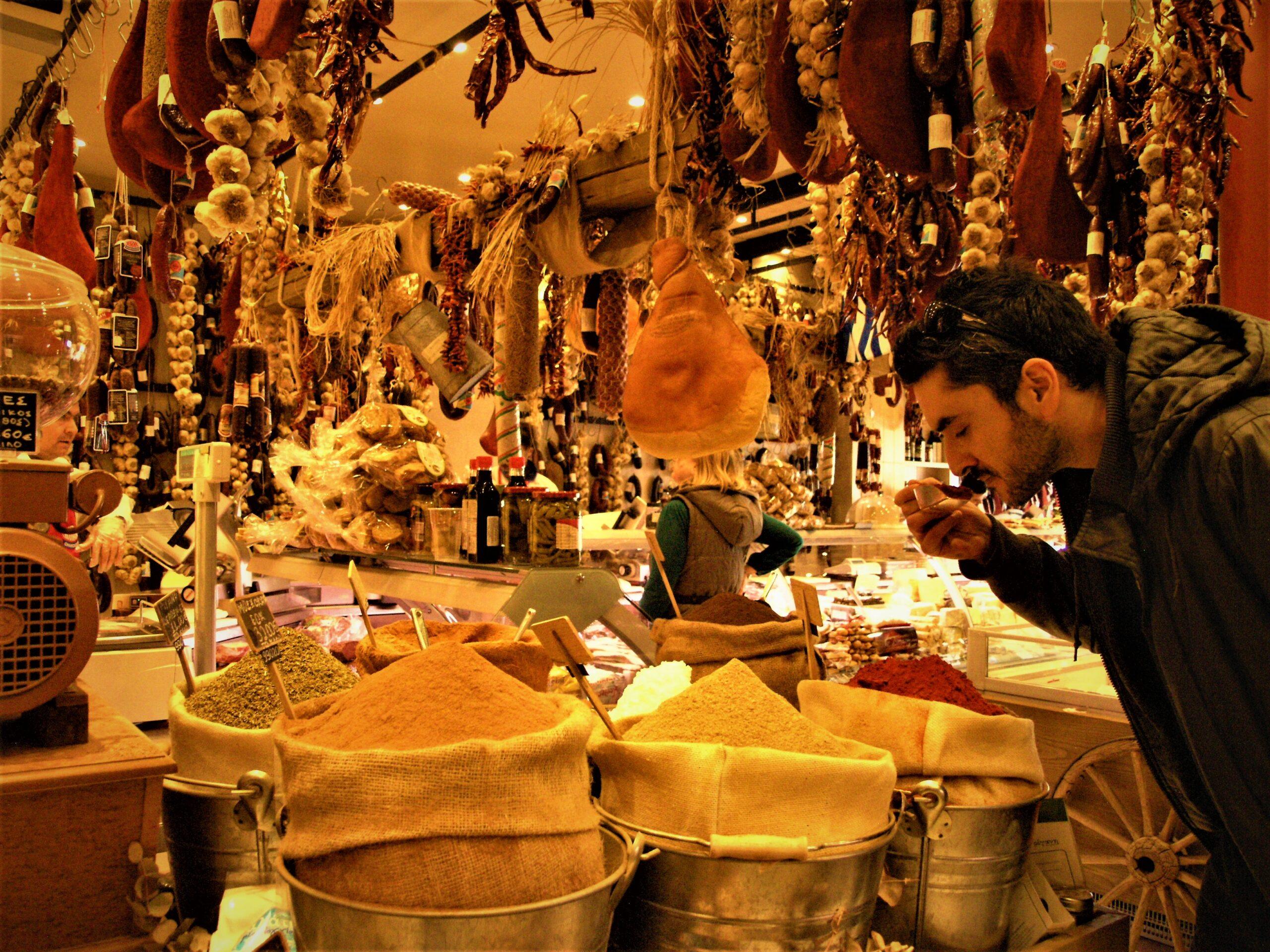 Αθήνα, Βαρβάκειος αγορά, food tour