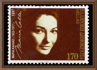 Maria Callas stamp