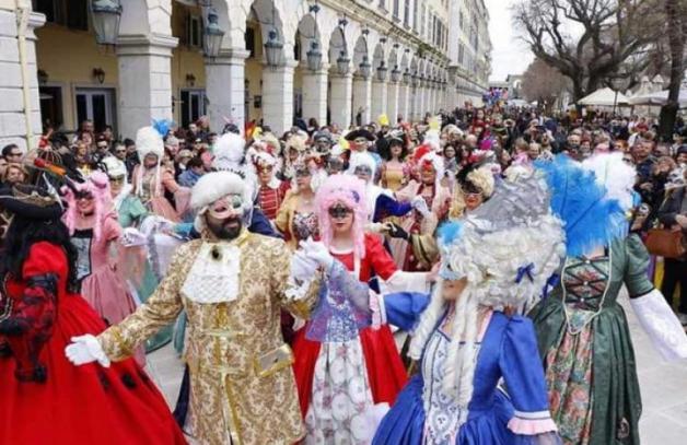 Corfu carnival, Greece