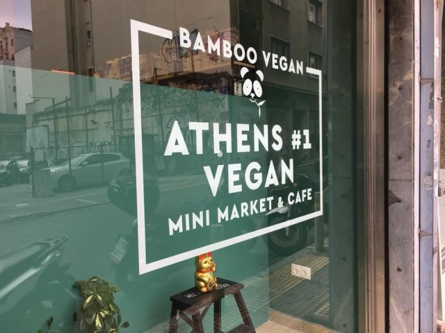 Vegan eating in Athens