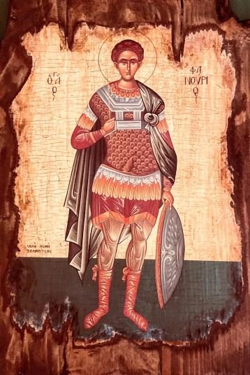 Agios Fanourios Icon