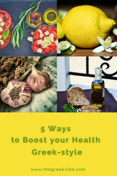 Five Ways to Boost your Health Greek-style