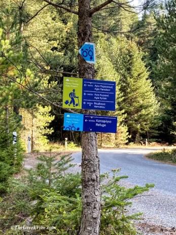 hiking Greece the Menalon Trail Experience