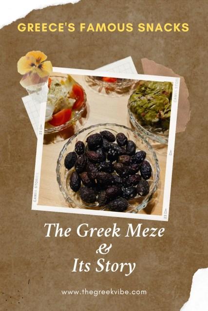 The Greek Meze: Its Story