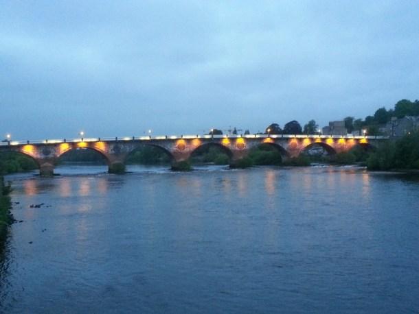 Perth Bridge at dusk